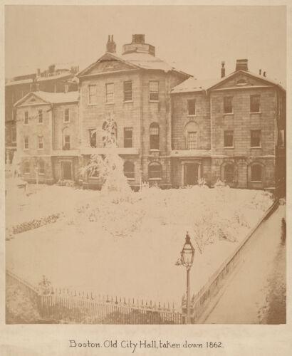 Boston. Old City Hall, taken down 1862