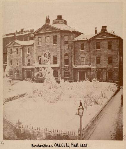 Boston, Mass. Old City Hall. 1858