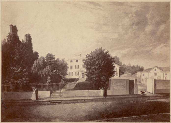 Gardiner-Greene House, Pemberton Hill, Boston. Built about 1758