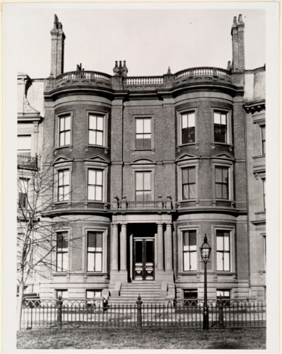 (No. 15 Commonwealth Ave:) Residence of W.D. Pickman. Built 1867, photo before 1899