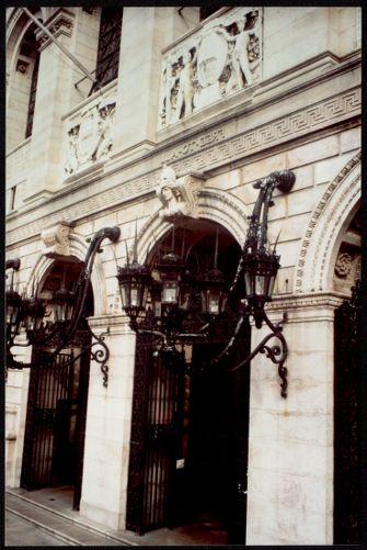 Entrance to the McKim building