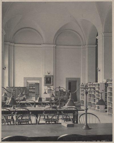 Boston Public Library, Copley Sq. Fine arts department