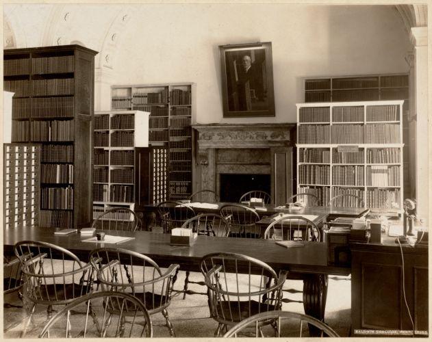 Boston Public Library. Copley Square. Music room