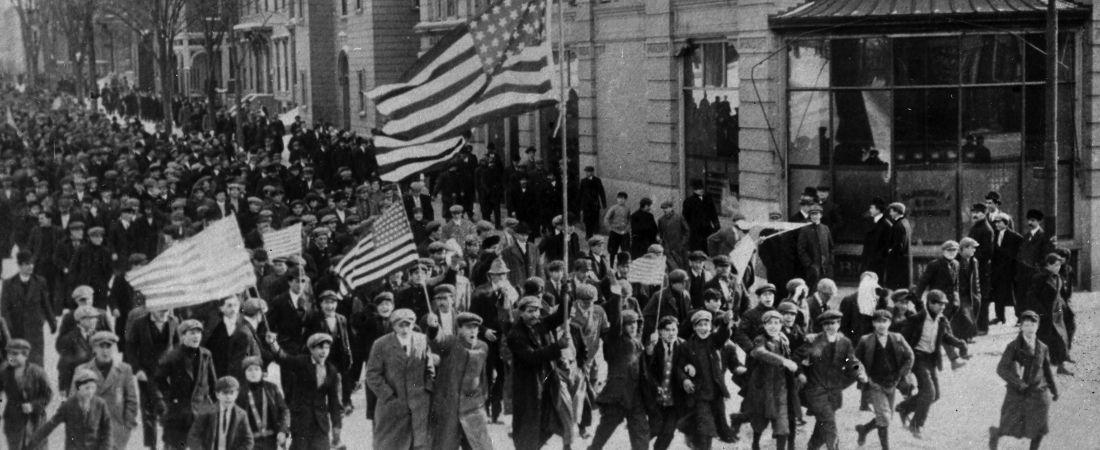 Lawrence strike, strikers, 1912