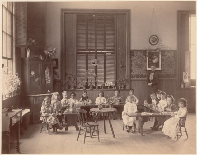 Appleton Street kindergarten - interior - Boston School System