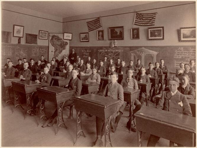 Dudley School - class 2 - room 3