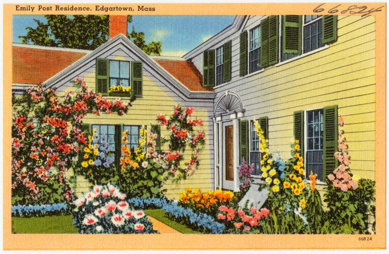 Emily Post residence, Edgartown, Mass.