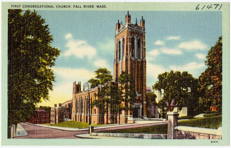 First Congregational Church, Fall River, Mass.