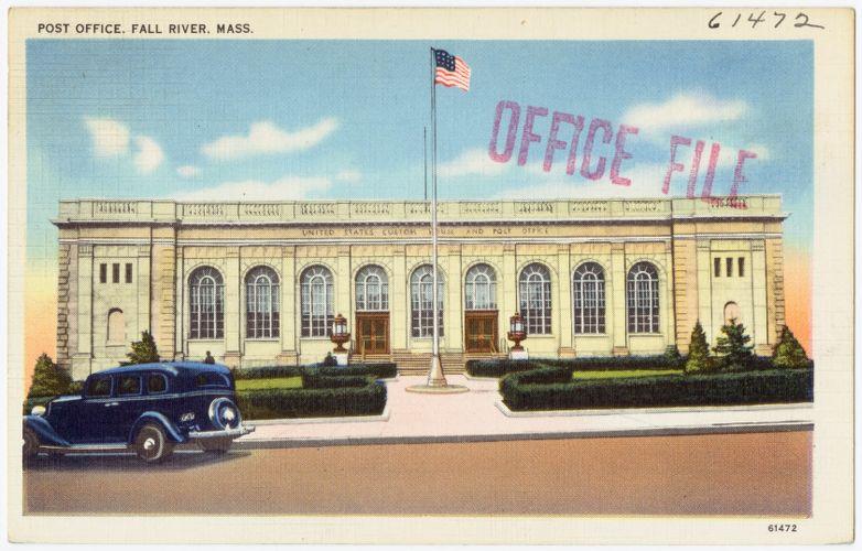 Post office, Fall River, Mass.