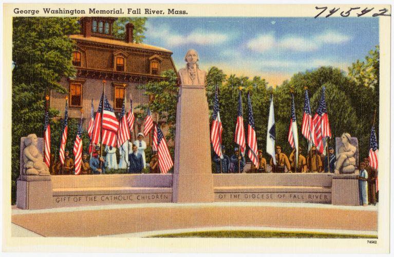 George Washington Memorial, Fall River, Mass.