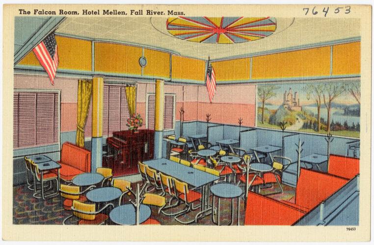 The Falcon room, Hotel Mellen, Fall River, Mass.