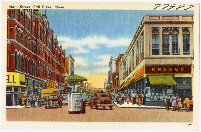 Main Street, Fall River, Mass.