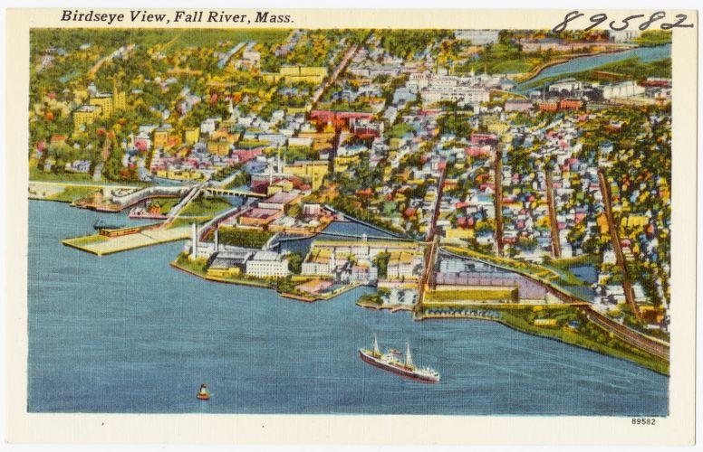 Birdseye view, Fall River, Mass.