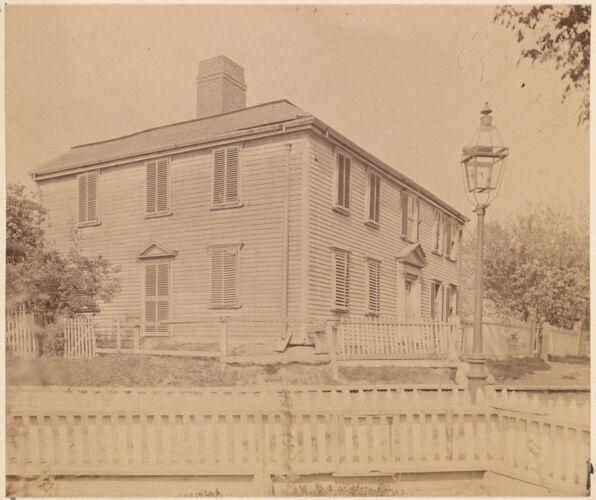 Clapp Homestead, Dorchester, Mass. Built in 1633