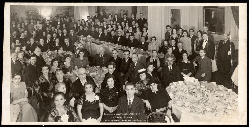 Golden jubilee dinner in honor of N.S. Gimush Cairdan
