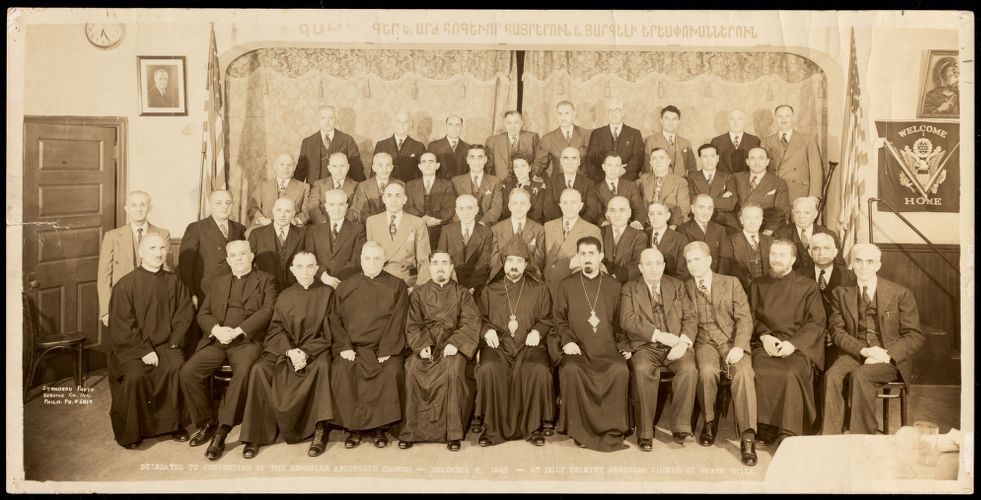 Delegates to [the] convention of the Armenian Apostolic Church