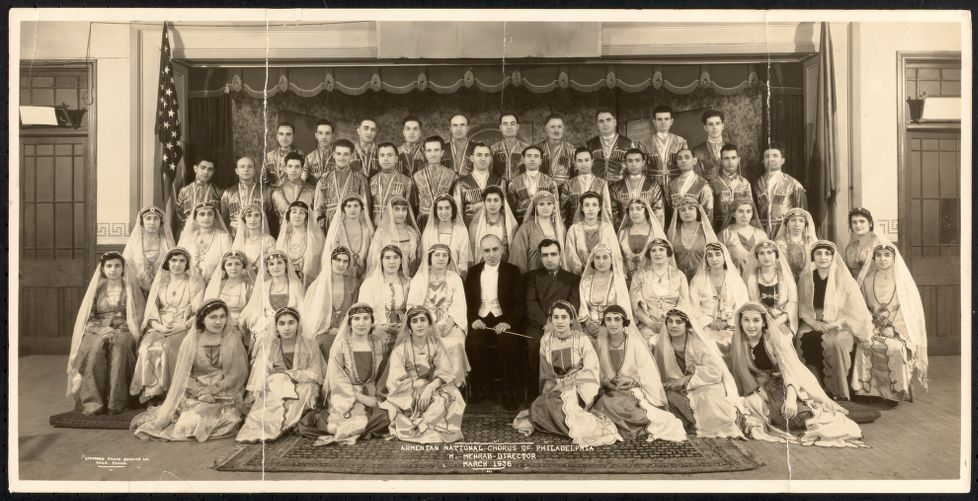 Armenian National Chorus of Philadelphia, H. Mehrab, director