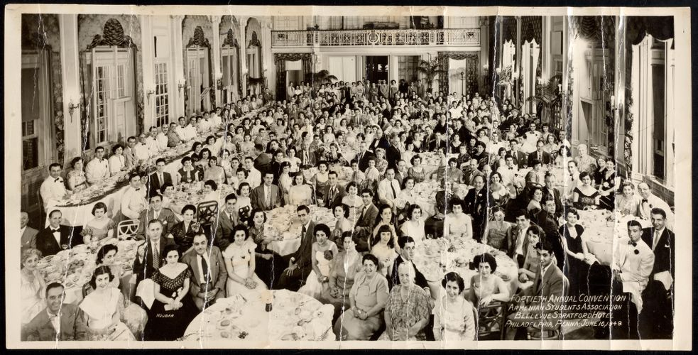 Fortieth annual convention - Armenian Students Association