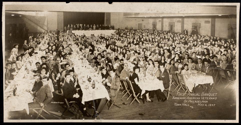 First annual banquet, Armenian-American Veterans of Philadelphia