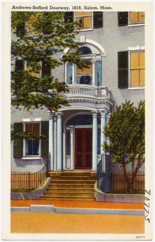 Andrews-Safford doorway, 1818, Salem, Mass.