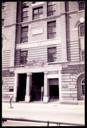 Ayer Mill - front entrance - Union St.