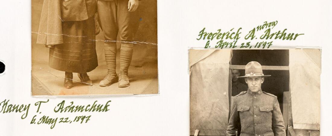 Photos of Canton War Veterans