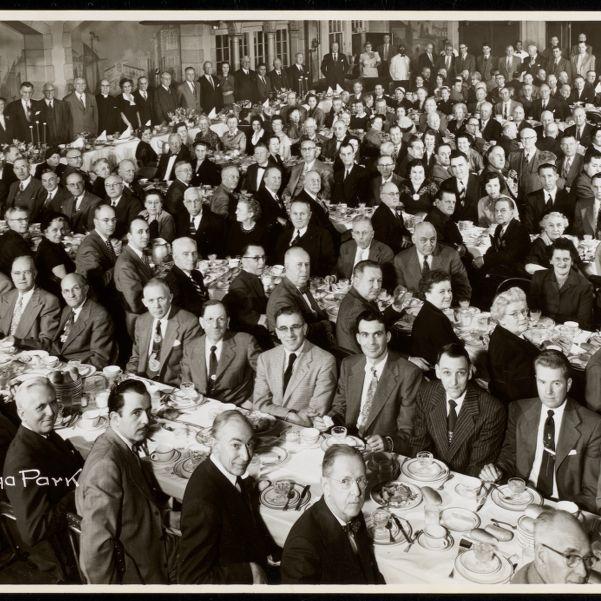 Testimonial dinner in honor of Frank M. Grant, Normandy Ballroom, Norumbega Park, March 1, 1954