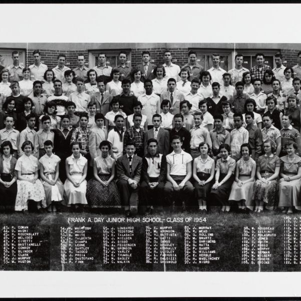 Frank A. Day Junior High School, class of 1954