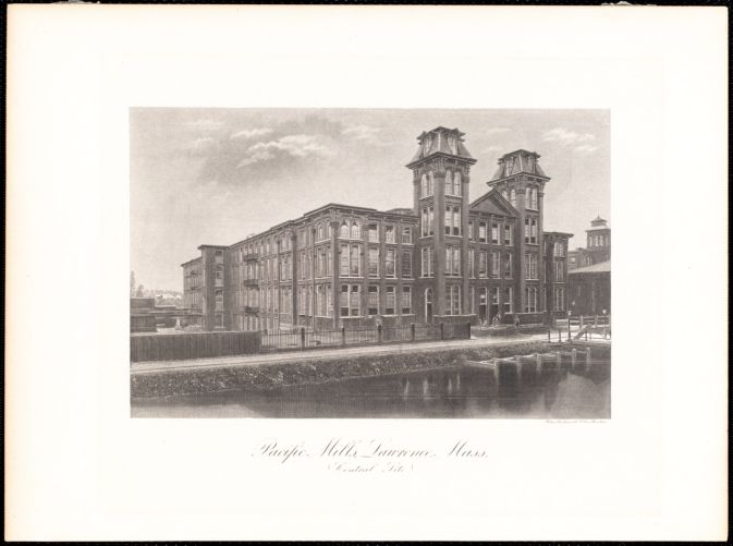 Pacific Mills, Lawrence, Mass. (central site)