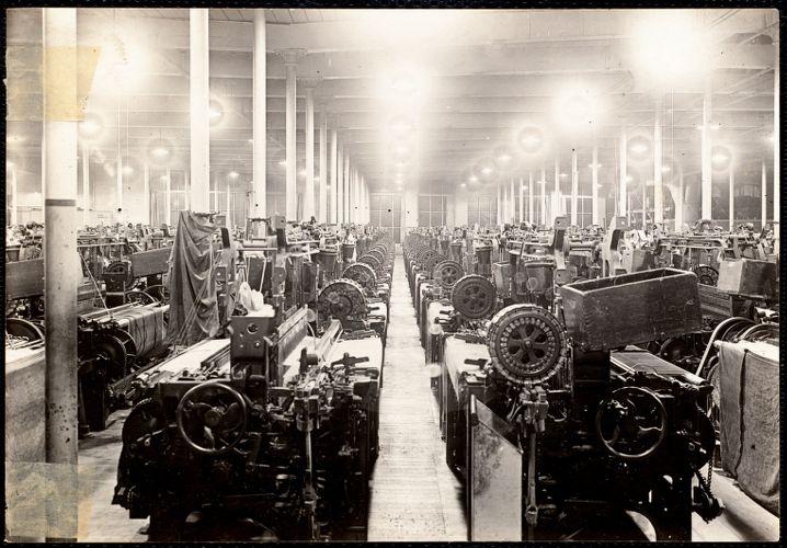 Pacific Mills interior