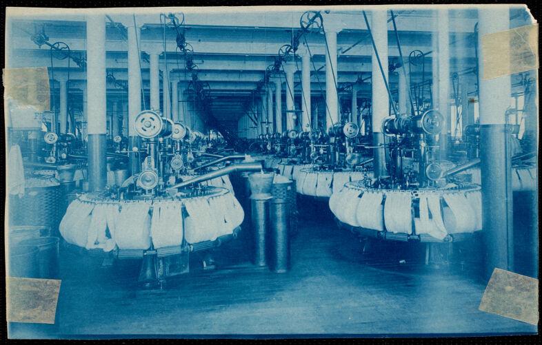 Combing room, Lower Pacific Mills