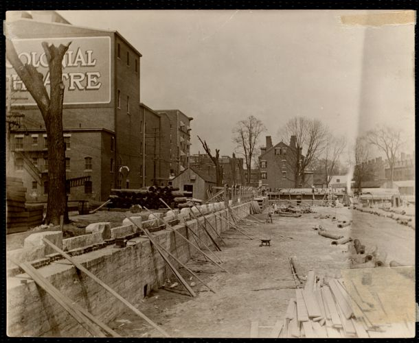 Pacific Mills. Construction