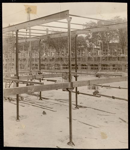 Framework. Pacific Mills building