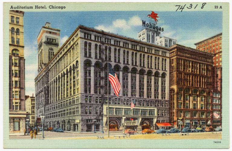 Auditorium Hotel, Chicago
