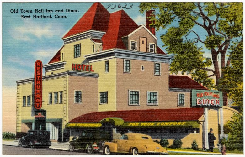 Old Town Hall Inn and Diner, East Hartford, Conn.