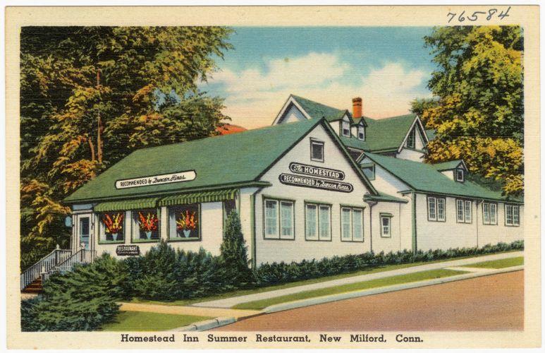 Homestead Inn Summer Restaurant, New Milford, Conn.