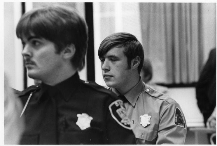 Members of Bentley Campus Police