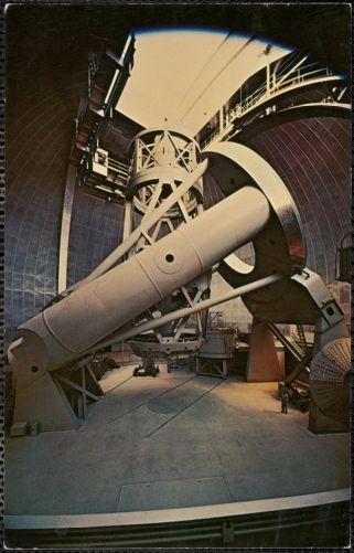 The 200-inch Hale telescope, Palomar Mountain, California