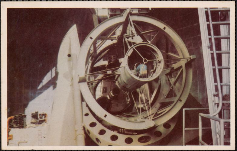 "The 200"" telescope, Palomar Mountain, California"