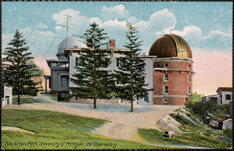 Ann Arbor, Mich. University of Michigan, the observatory
