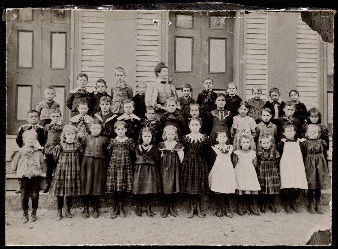 1897 Adams School class
