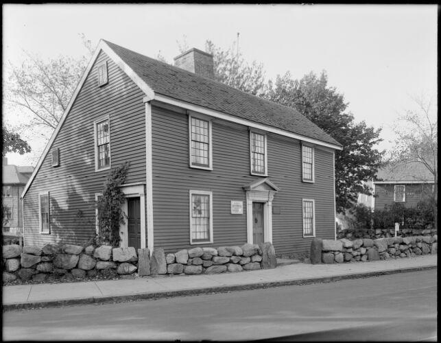 Birthplace of John Quincy Adams, Quincy, Mass.