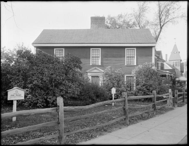Birthplace of John Adams, Quincy, Mass.