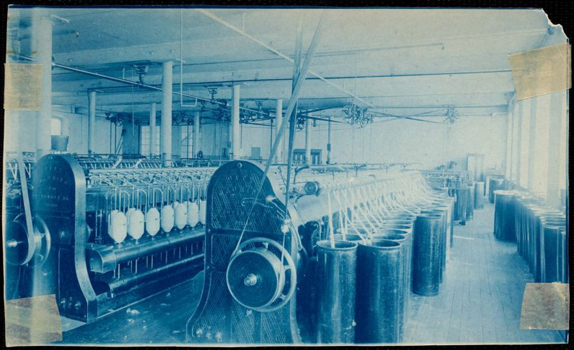 Lower Pacific Mills roving department