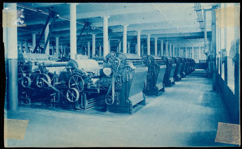 Lower Pacific Mills picker room