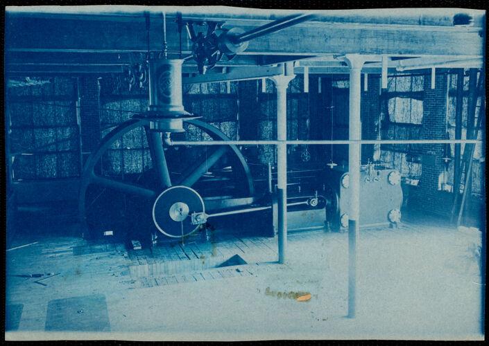 Steam engine, Lower Pacific Mills