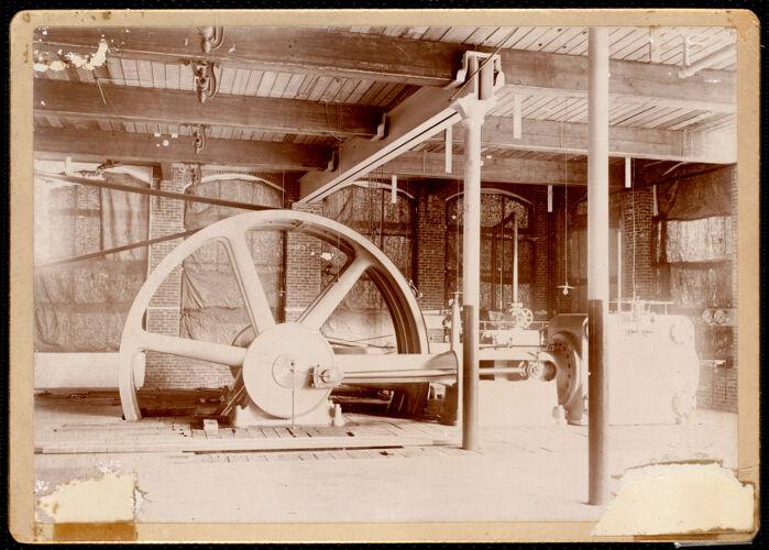 Lower Pacific Mills, steam engine