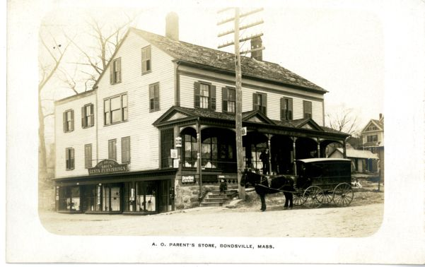 A.O.Parents Store, Bondsville, Massachusetts
