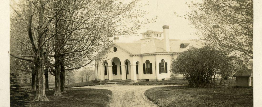Boylston Villa, Princeton, MA - postcard, c 1908
