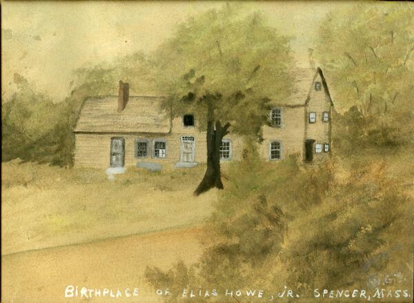 Birthplace of Elias Howe, Jr.